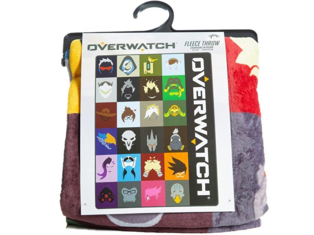 Overwatch Multi-Character Throw Blanket