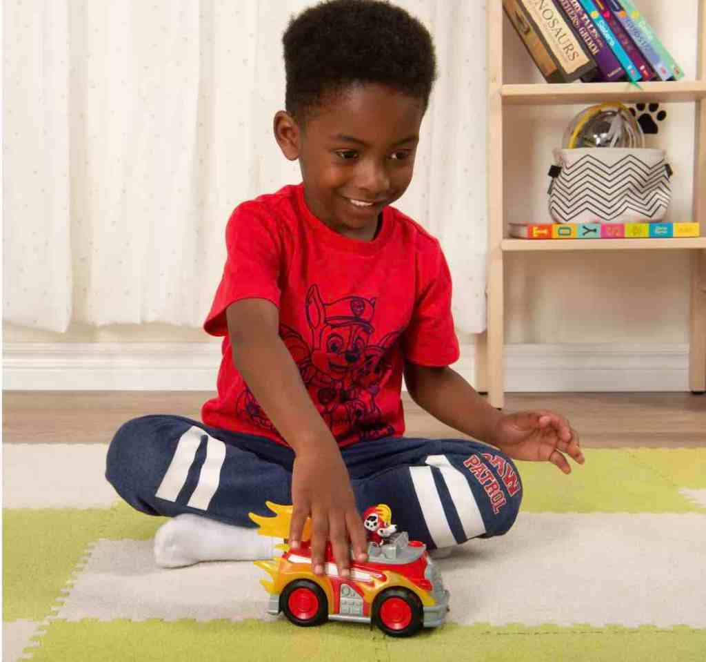 PAW Patrol Mighty Pups Super Deluxe Vehicle Marshal