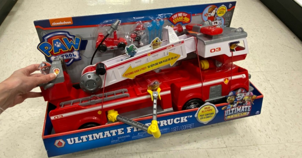 Paw Patrol ultimate fire truck toy
