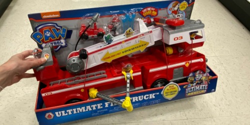 Paw Patrol Ultimate Rescue Fire Truck w/ Lights & Sounds Only $26.99 Shipped (Regularly $60)