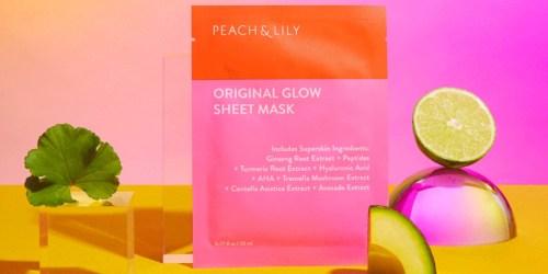 FREE Peach & Lily Sheet Mask Sample
