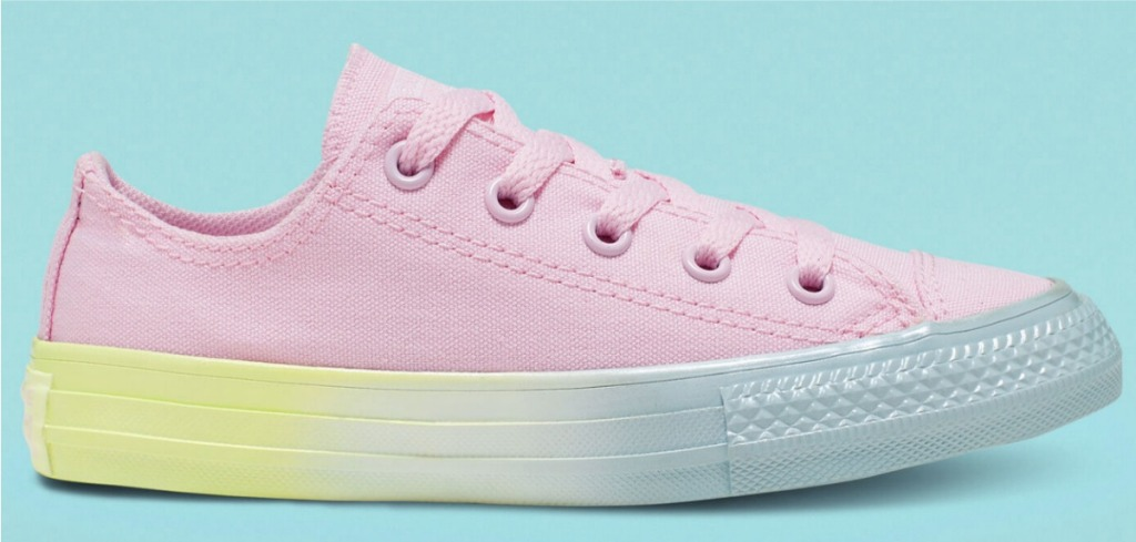 Pearlized Converse Shoes