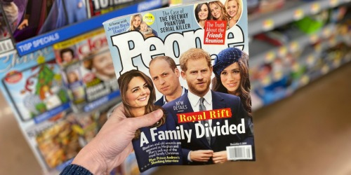 FREE One Year People Magazine Subscription