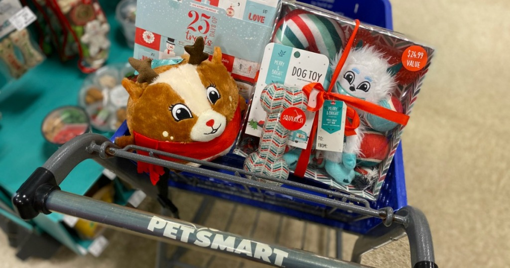 Petsmart Cart of Toys