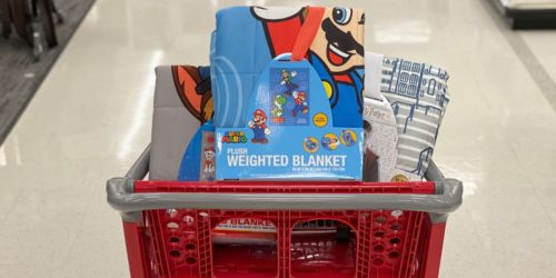 Pillowfort & Kids Character Weighted Blankets Only $25 Shipped at Target (Regularly $40)