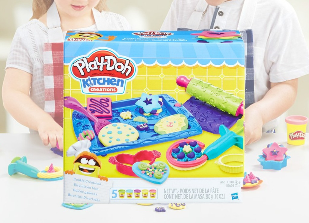 Play Doh Kitchen Set in box