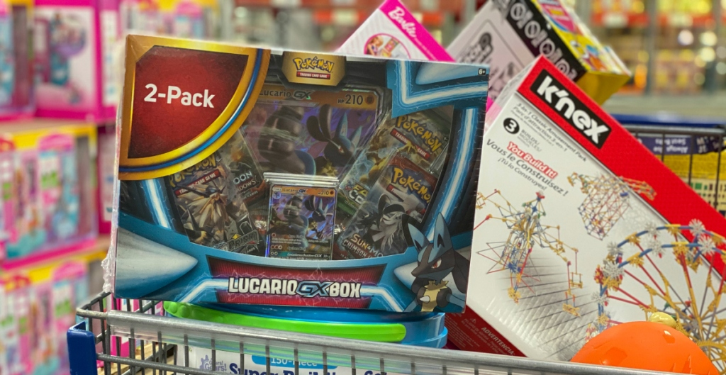 Pokémon Snorlax-GX Box and Lucario-GX Box
