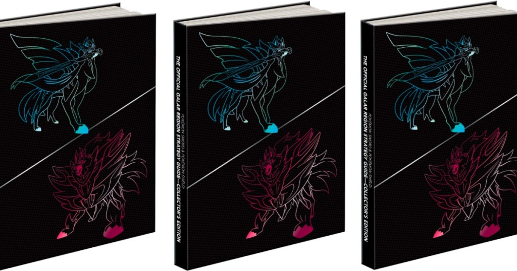 Pokémon The Official Galar Region Collector's Edition Hardcover Only .79 on Amazon (Regularly )