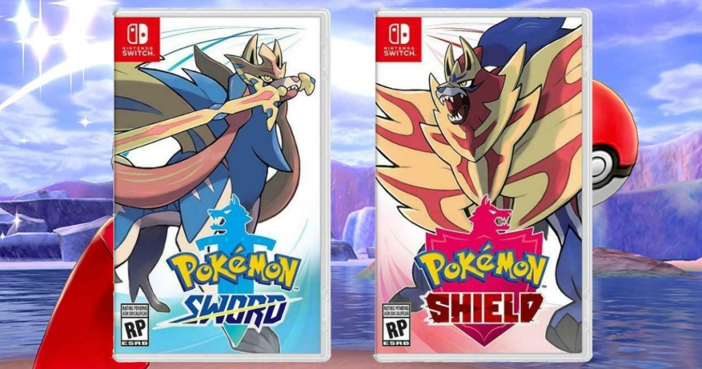 Pokemon Sword or Shield Switch Game