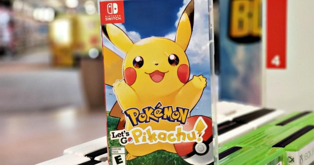 Pokemon: Let's Go Pikachu! Nintendo Switch Video Game
