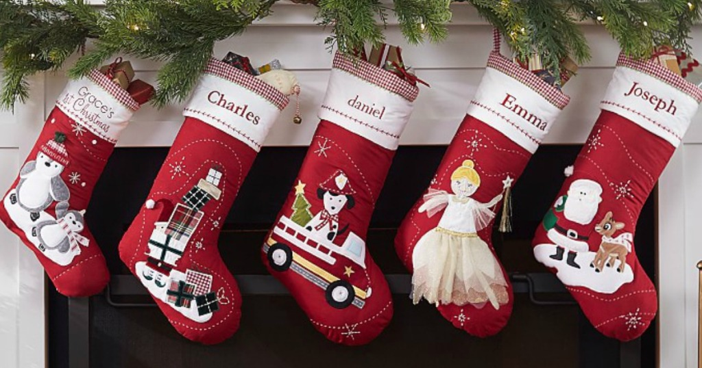 Pottery Barn Kids Personalized Christmas Stockings As Low