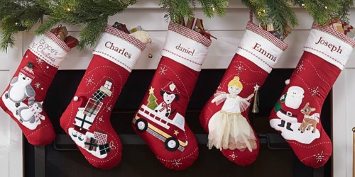 Pottery Barn Kids Personalized Christmas Stockings as Low as $5.99 Shipped (Regularly $19+)
