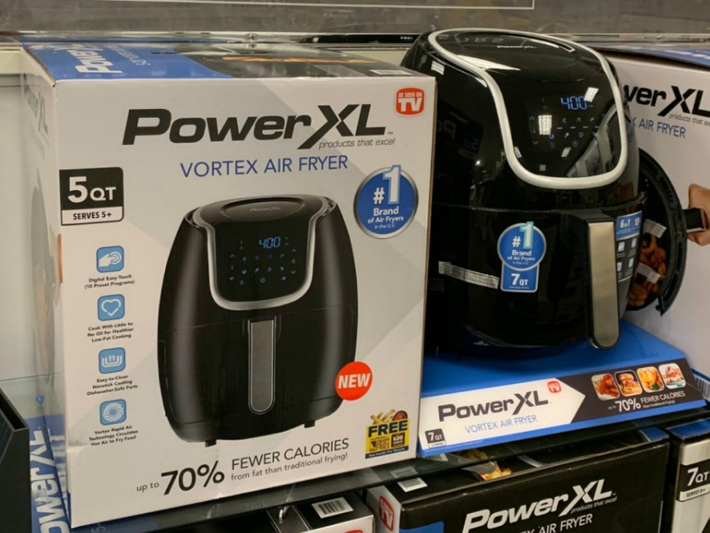 Store display of the Power XL Air Fryer