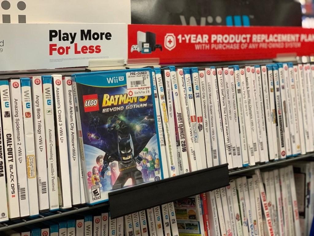 Pre-Owned Games at Gamestop Wii U