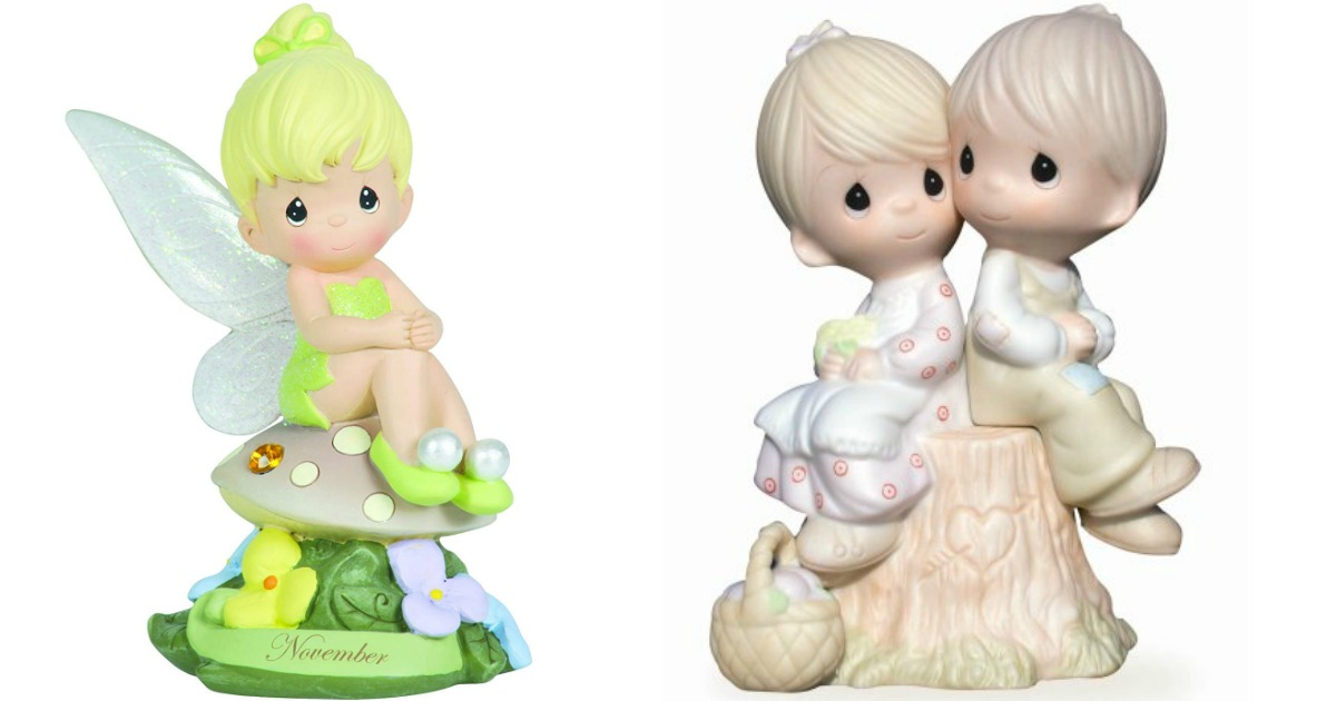 Precious Moments Tinkerbell and Couple Figure