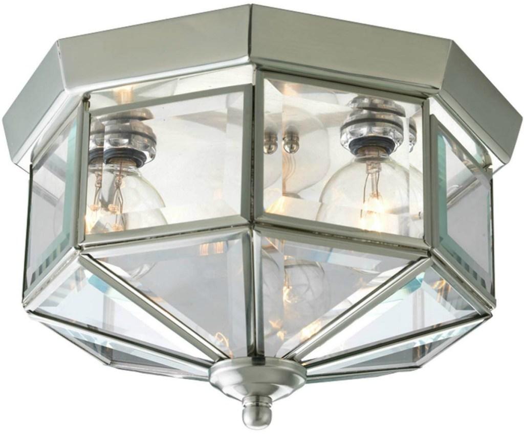 Progress Lighting Octagonal Close-to-Ceiling Fixture