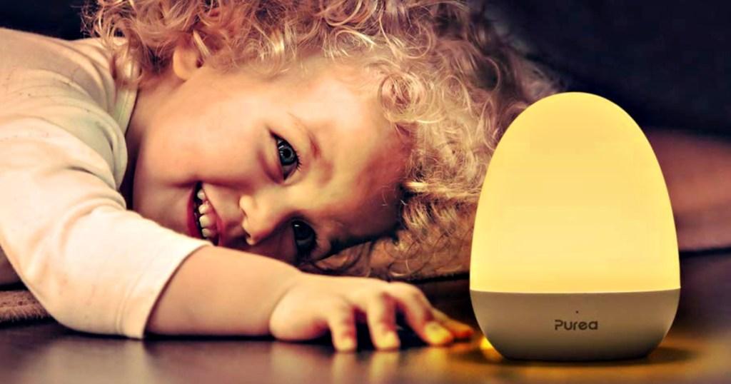 Purea LED Nursery Night Light