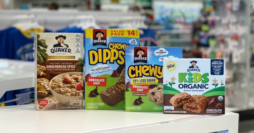 Quaker Products at Target