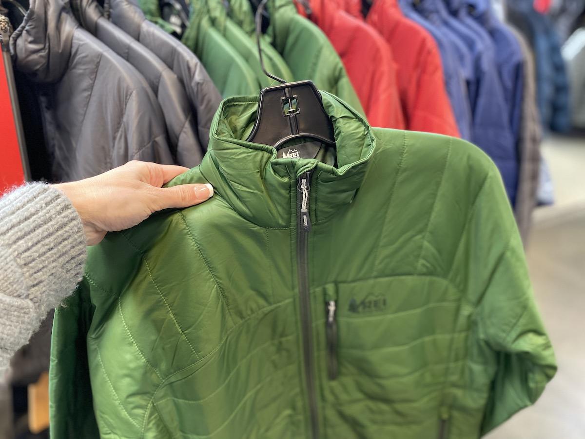 REI Co-op Women's Revelcloud II Jacket Green