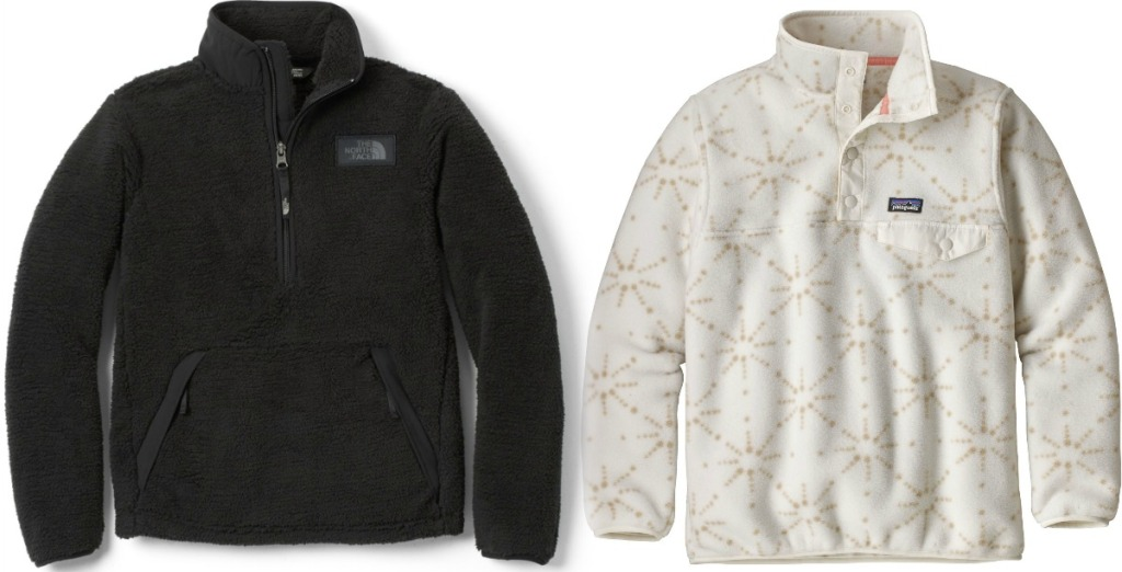 REI Kids Jackets in black and white