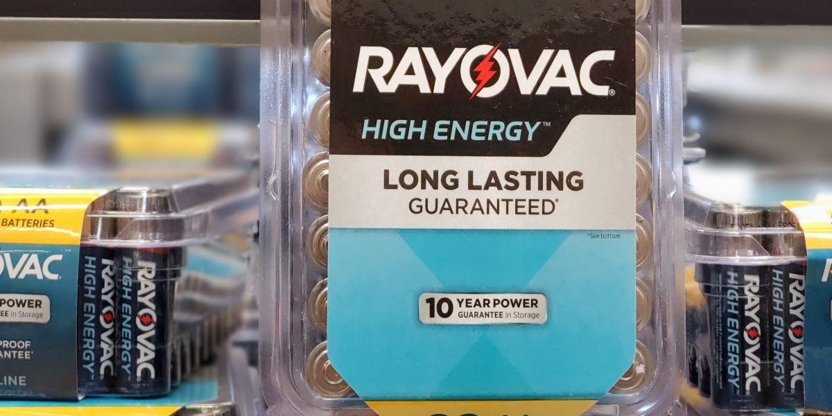 paket baterai Rayovac