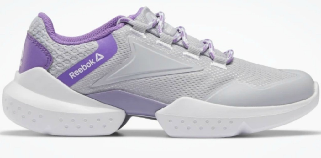 Kids Shoes in gray and purple
