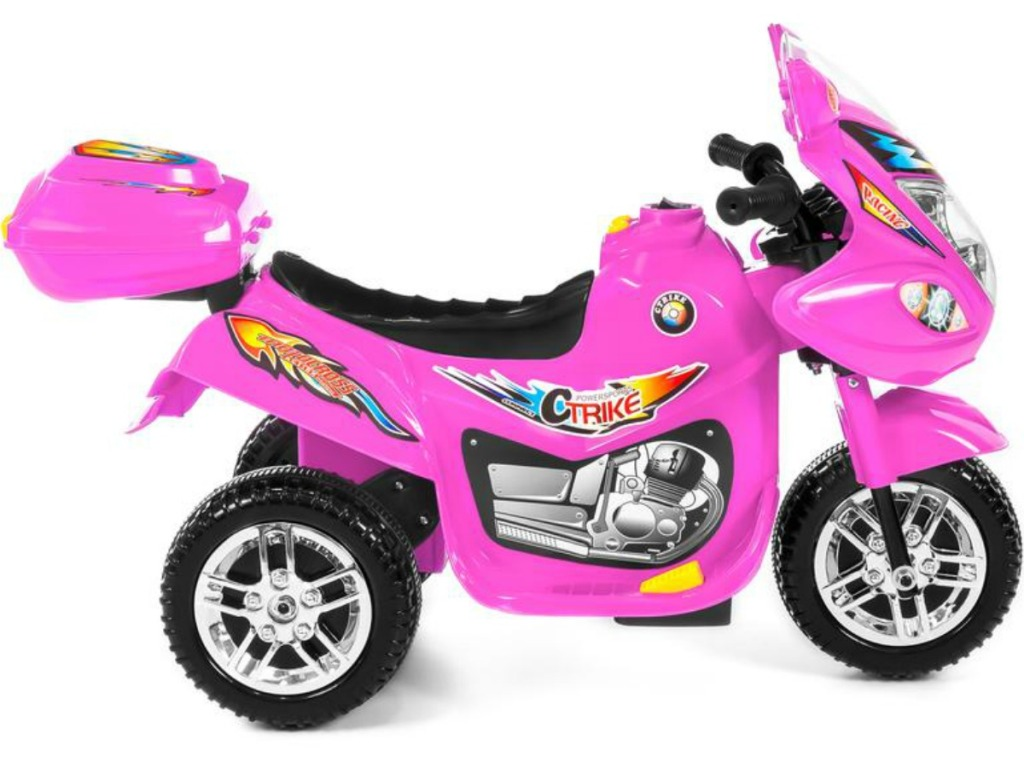 Kids pink motorcycle