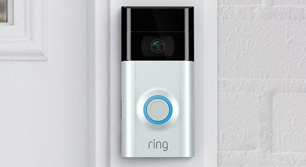 Ring Video Doorbell 2 in doorway