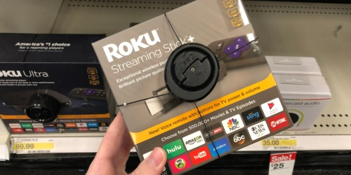 Roku Streaming Stick+ 4K Streaming Media Player Only $39 Shipped on Walmart.com (Regularly $59)