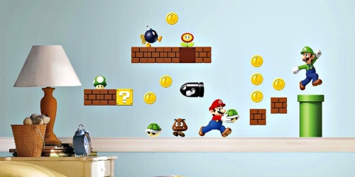 RoomMates Peel & Stick Wall Decals as Low as $4.25 | Super Mario Bros, Disney & More