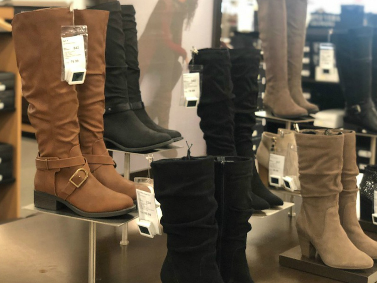 Women's Boots Only $16.99 at Kohl's
