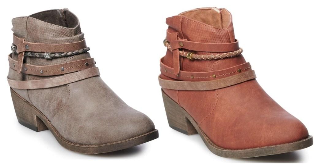 SO Celery Women's Ankle Boots