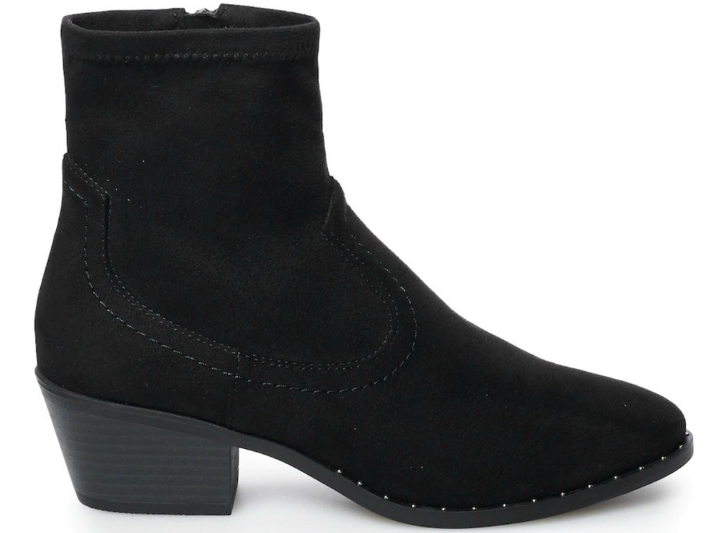 Women's Black fashion boot