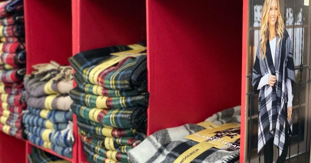 Sam's Club Black Friday Woolrich Cozy Blanket Wrap