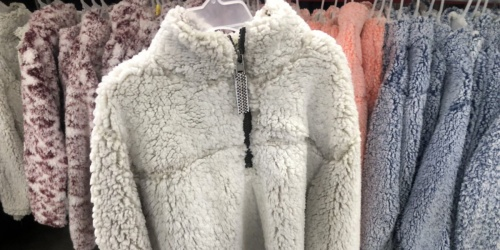 Cozy Sherpa Pullovers as Low as $9.98 + More at Sam's | Great Gift Ideas