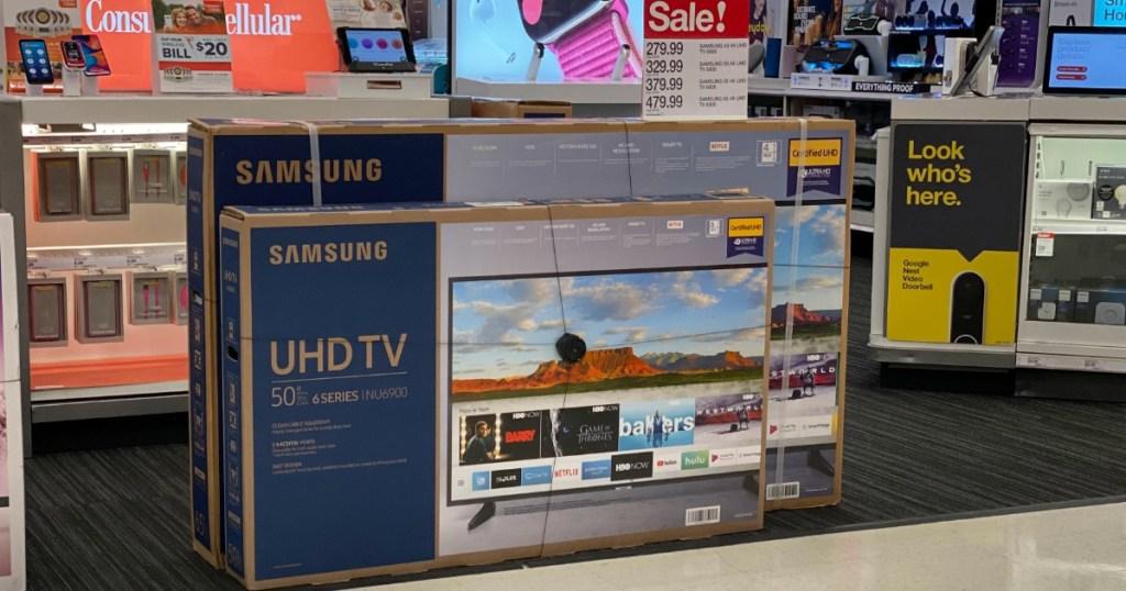 Samsung TVs at Target
