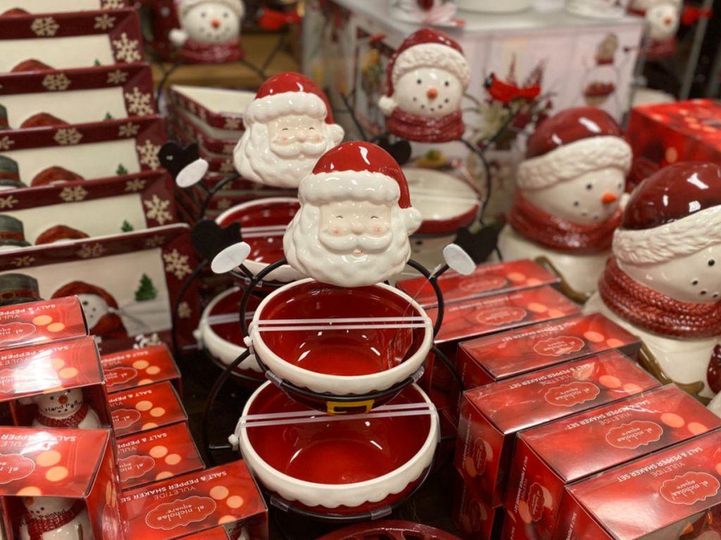 Santa Bowls at kohls