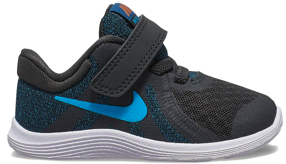 Nike Sneakers with blue outlining