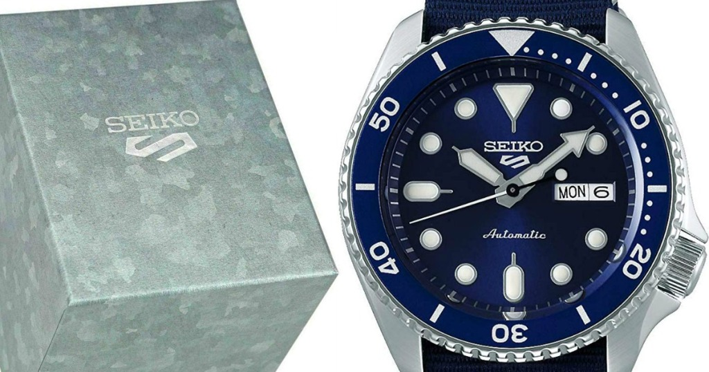 Seiko Dive Watch and box
