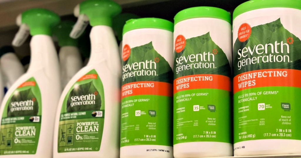Seventh Generation Disinfecting products