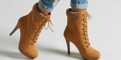 Women's Boots Only $12.99 on Zulily (Regularly $60-$80)