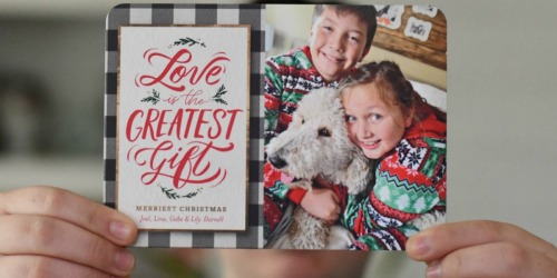 CVS Photo Cards are BOGO FREE (Just 49¢ Per Personalized Holiday Card!)