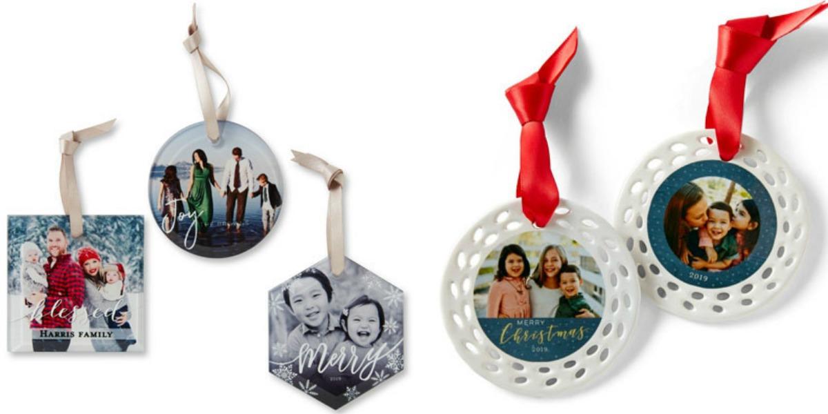 Shutterfly Glass & Ceramic Ornaments