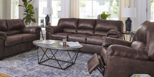 Signature Design by Ashley Sofa & Love Seat Only $400 Each Delivered (Regularly $1,000+)