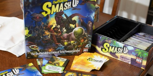Smash Up Board Game Only $12.98 on Walmart (Regularly $35) | Great Reviews