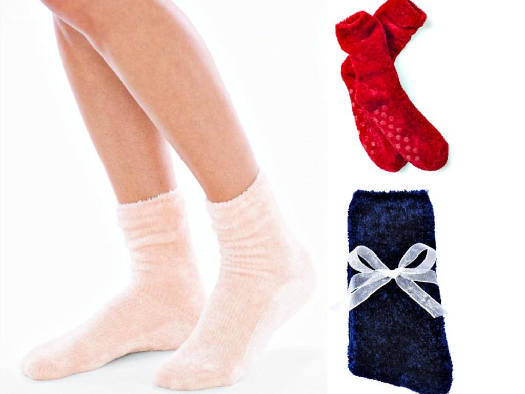 Soma Fuzzy Socks