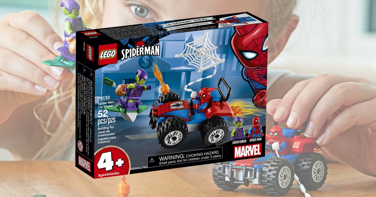 Spiderman LEGO set in package