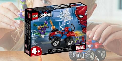 LEGO Marvel Spider-Man Car Chase Set Only $5.99 (Regularly $9.99)