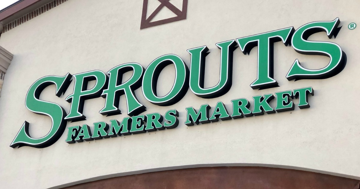 Store front of Sprouts Farmers Market