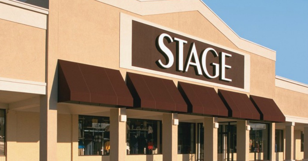 Stage storefront